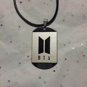 Kpop BTS Dog Tag Necklace